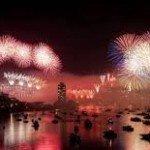Año nuevo en el mundo